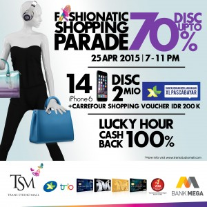 Fashionatic Shopping Parade