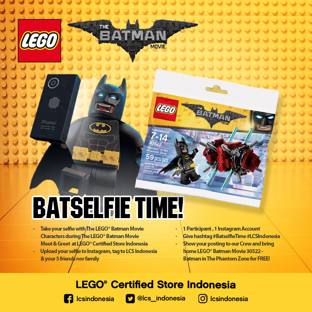 LCS - Whats On March Promo Batfie